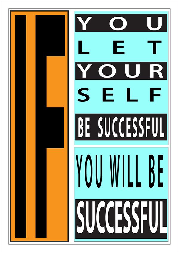 """Unframed Custom Print """"Successful"""" 1"""