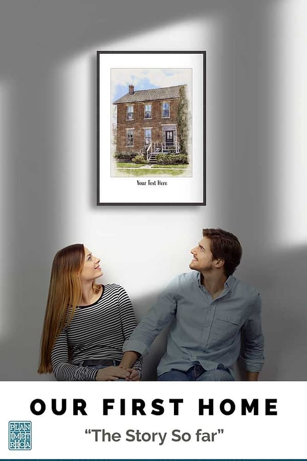 Stylish Custom Watercolour Home Prints.-3 Simple Reasons to Buy our Portrait Framed Prints 1